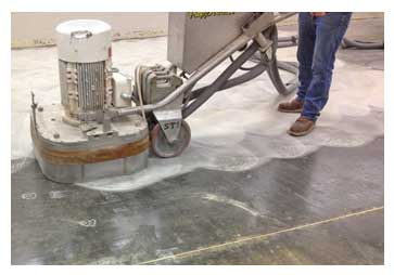 Fast Old Floor Removal Polishing Shot Blasting Concrete Diamond Grinding